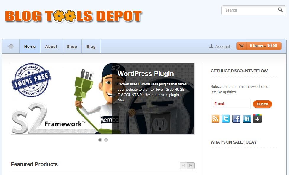 BlogToolsDepot.com Update